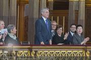Angelobung Bundespräsident - Parlament und Volksgarten - Do 26.01.2017 - Heinz FISCHER, Doris SCHMIDAUER, Margot L�FFLER-KLESTIL81