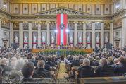 Angelobung Bundespräsident - Parlament und Volksgarten - Do 26.01.2017 - Alexander VAN DER BELLEN, Bundesregierung, Minister86