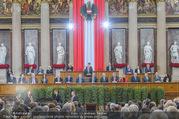 Angelobung Bundespräsident - Parlament und Volksgarten - Do 26.01.2017 - Alexander VAN DER BELLEN, Bundesregierung, Minister87