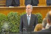 Angelobung Bundespräsident - Parlament und Volksgarten - Do 26.01.2017 - Alexander VAN DER BELLEN93
