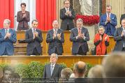 Angelobung Bundespräsident - Parlament und Volksgarten - Do 26.01.2017 - Alexander VAN DER BELLEN, Bundesregierung, Minister94