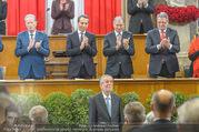 Angelobung Bundespräsident - Parlament und Volksgarten - Do 26.01.2017 - Alexander VAN DER BELLEN, Bundesregierung, Minister96