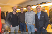 Blutsbrüder Premiere - Rabenhof - Do 26.01.2017 - Thomas GLAVINIC, Thomas MAURER, Guido TARTAROTTI, Armin WOLF1
