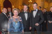 Polizeiball - Rathaus - Fr 27.01.2017 - Ursula STENZEL, Heinz-Christian HC STRACHE, Johann GUDENUS10