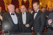 Polizeiball - Rathaus - Fr 27.01.2017 - Michael H�UPL, Wolfgang SOBOTKA, Gernot BL�MEL14