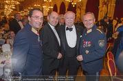Polizeiball - Rathaus - Fr 27.01.2017 - Gerhard P�RSTL, Michael H�UPL, Wolfgang SOBOTKA, Karl MAHRER16