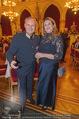 Polizeiball - Rathaus - Fr 27.01.2017 - Karl MAHRER mit Ehefrau Christina2