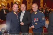 Polizeiball - Rathaus - Fr 27.01.2017 - Gerhard P�RSTL, Wolfgang SOBOTKA, Karl MAHRER7