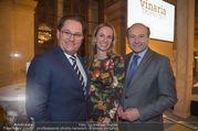 Vinaria Trophy 2017 - Palais Niederösterreich - Di 31.01.2017 - Maria und Andreas GRO�BAUER GROSSBAUER, Dominique MEYER6