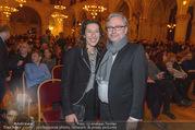 Österreichischer Filmpreis - Rathaus - Mi 01.02.2017 - Adele NEUHAUSER, Alexander WRABETZ110
