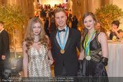 Ball der Wiener Wirtschaft - Hofburg - Sa 11.02.2017 - ZOE STRAUB mit Medaillengewinnern56