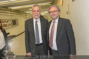 Hugo Portisch 90er - ORF Zentrum - Di 14.02.2017 - Alexander VAN DER BELLEN, Alexander WRABETZ1