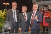 Hugo Portisch 90er - ORF Zentrum - Di 14.02.2017 - Heinz FISCHER, Hugo PORTISCH, Alexander VAN DER BELLEN2