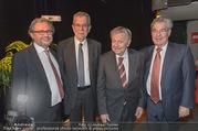 Hugo Portisch 90er - ORF Zentrum - Di 14.02.2017 - Heinz FISCHER, Hugo PORTISCH, Alexander VAN DER BELLEN, WRABETZ6