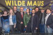 Wilde Maus Kinopremiere - Gartenbaukino - Do 16.02.2017 - Gruppenfoto Team, Filmcrew, Schauspieler um Josef HADER17