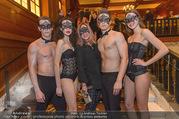 Michael Lameraner 40er - Park Hyatt - Sa 18.02.2017 - Sonja KIRCHBERGER mit Models13