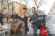 Goldie Hawn Ankunft - Flughafen und Grand Hotel - Di 21.02.2017 - Goldie HAWN35