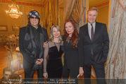 Egon Schiele Ausstellung - Albertina - Di 21.02.2017 - Gottfried und Renate HELNWEIN, Klaus Albrecht und Nina SCHR�DER15