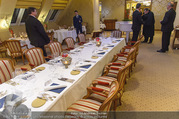 Goldie Hawn Fototermin - Grand Hotel - Do 23.02.2017 - Abendessen Tisch Dinner Tafel8