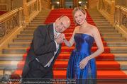 Opernball 2017 - Staatsoper - Do 23.02.2017 - Maria GRO�BAUER GROSSBAUER, Dominique MEYER1