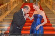 Opernball 2017 - Staatsoper - Do 23.02.2017 - Maria GRO�BAUER GROSSBAUER, Dominique MEYER5