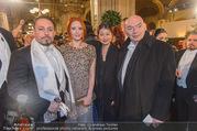 Opernball 2017 - Staatsoper - Do 23.02.2017 - Barbara MEIER, Klemens HALLMANN,Jean NOUVEL mit Begleitung72