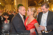 Opernball 2017 - Staatsoper - Do 23.02.2017 - Gery KESZLER, Lidia BAICH mit Ehemann Andreas SCHAGER96