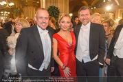 Opernball 2017 - Staatsoper - Do 23.02.2017 - Gery KESZLER, Lidia BAICH mit Ehemann Andreas SCHAGER97