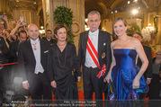 Opernball 2017 - Staatsoper - Do 23.02.2017 - D. MEYER, Alexander VAN DER BELLEN, Doris SCHMIDAUER, GROSSBAUER127