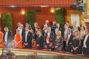 Opernball 2017 - Staatsoper - Do 23.02.2017 - Bundesregierung, Christian KERN, Alexander VAN DER BELLEN162