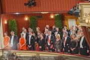 Opernball 2017 - Staatsoper - Do 23.02.2017 - Bundesregierung, Christian KERN, Alexander VAN DER BELLEN164
