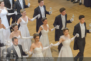 Opernball 2017 - Staatsoper - Do 23.02.2017 - Stefanie FELBER, Deb�danten, Er�ffnung166