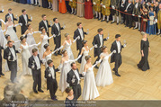Opernball 2017 - Staatsoper - Do 23.02.2017 - Stefanie FELBER, Deb�danten, Er�ffnung168