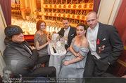 Opernball 2017 - Staatsoper - Do 23.02.2017 - Barbara MEIER, Klemens HALLMANN, Lena HOSCHEK, G. HELNWEIN181