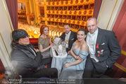 Opernball 2017 - Staatsoper - Do 23.02.2017 - Barbara MEIER, Klemens HALLMANN, Lena HOSCHEK, G. HELNWEIN182