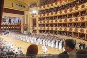 Opernball 2017 - Staatsoper - Do 23.02.2017 - Blick aus einer Loge auf die Er�ffnung, Ballsaal191