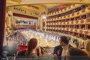 Opernball 2017 - Staatsoper - Do 23.02.2017 - Blick aus einer Loge auf die Er�ffnung, Ballsaal192