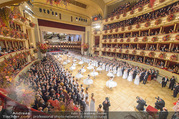 Opernball 2017 - Staatsoper - Do 23.02.2017 - Ballsaal, �bersichtsfoto, Er�ffnung, Deb�danten194