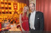 Opernball 2017 - Staatsoper - Do 23.02.2017 - Christoph und Eva DICHAND231