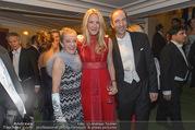 Opernball 2017 - Staatsoper - Do 23.02.2017 - Kathi ZECHNER, Christoph und Eva DICHAND236