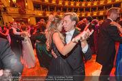 Opernball 2017 - Staatsoper - Do 23.02.2017 - Cathy LUGNER, Helmut WERNER beim Tanzen, Ballsaal251