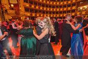 Opernball 2017 - Staatsoper - Do 23.02.2017 - Cathy LUGNER, Helmut WERNER beim Tanzen, Ballsaal253