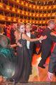 Opernball 2017 - Staatsoper - Do 23.02.2017 - Cathy LUGNER, Helmut WERNER beim Tanzen, Ballsaal256