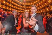 Opernball 2017 - Staatsoper - Do 23.02.2017 - Gina-Lisa LOHFINK, Florian WESS beim Tanzen, Ballsaal259