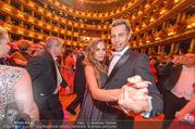 Opernball 2017 - Staatsoper - Do 23.02.2017 - Gina-Lisa LOHFINK, Florian WESS beim Tanzen, Ballsaal260