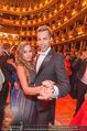 Opernball 2017 - Staatsoper - Do 23.02.2017 - Gina-Lisa LOHFINK, Florian WESS beim Tanzen, Ballsaal261
