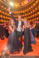 Opernball 2017 - Staatsoper - Do 23.02.2017 - Gina-Lisa LOHFINK, Florian WESS, Cathy LUGNER auf der Tanzfl�ch272