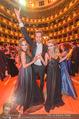 Opernball 2017 - Staatsoper - Do 23.02.2017 - Gina-Lisa LOHFINK, Florian WESS, Cathy LUGNER auf der Tanzfl�ch273