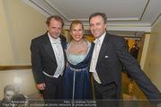 Opernball 2017 - Staatsoper - Do 23.02.2017 - Markus LIEBL, Kathrin NACHBAUR, Christian JAUK297