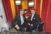 Opernball 2017 - Staatsoper - Do 23.02.2017 - Kari HOHENLOHE, Christoph WAGNER-TRENKWITZ im neuen Kammerl ORF300